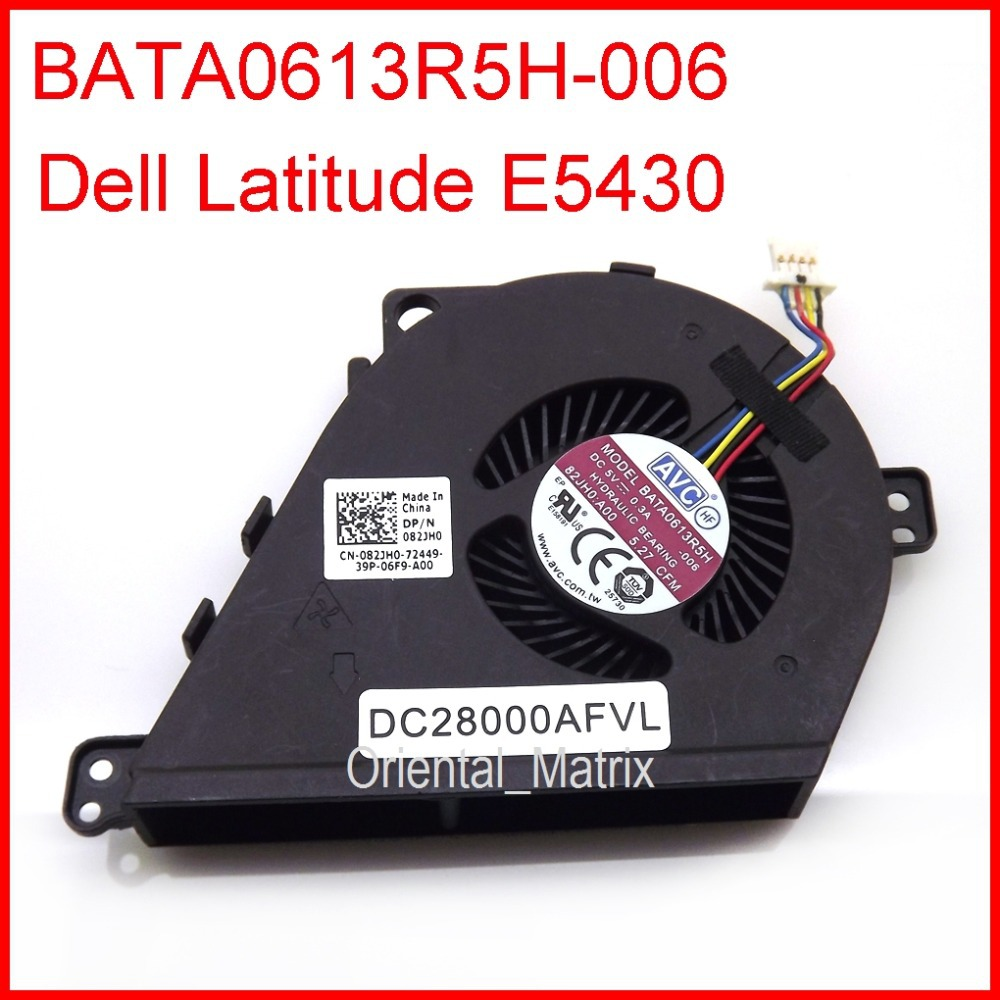 Original New DC5V 0.3A Cooler <font><b>Fan</b></font> Replacement For <font><b>Dell</b></font> <font><b>Latitude</b></font> <font><b>E5430</b></font> Laptop CPU Cooler <font><b>Fan</b></font> image