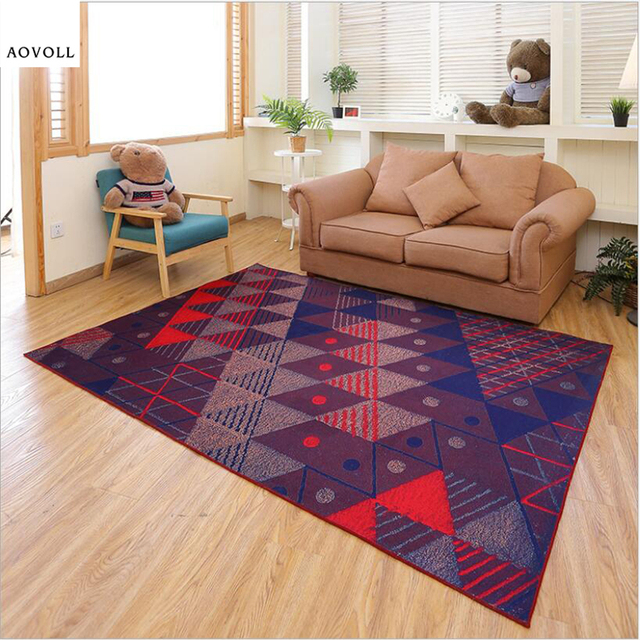 AOVOLL Creative Design Soft Carpets For Living Room Bedroom Kid Room Rugs  Home Carpet Floor Door Mat Delicate Hot Sale Area Rug