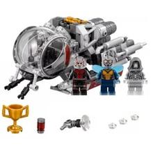 Legoings Marvel Super Heroes 76109 Ant man Quantum Realm explorers ghost Hornet Block wasp Toy herores