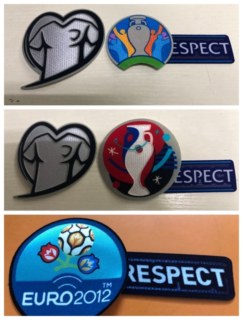 506360b2f New 2019 qualification Euro 2020 2016 2012 European Football Championship  patch Print patches badges