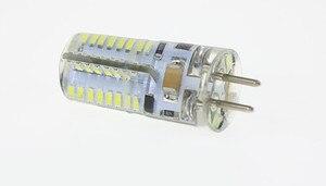 Image 3 - 10 ピース/ロット led GU5.3 12 v led G5.3 12 v 3014 64SMD led GU5.3 AC12V led G5.3 DC12V クリスタルライトシャンデリアスポットライト電球