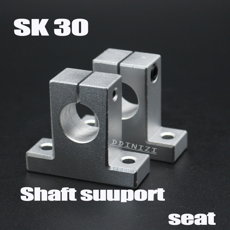 Linear Rail Shaft Support FOR XYZ Table CNC Router Milling SK8 8mm 4 PCS