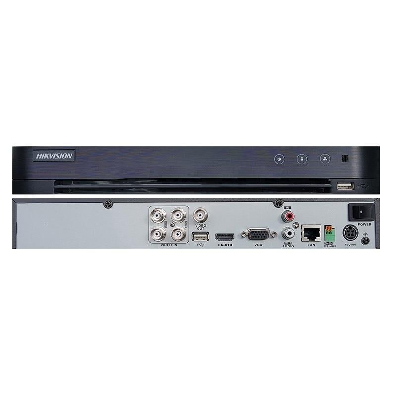 HIKVISION DS-7204HQHI-K1 H.265 TURBO 4 DVR 4 Channels up to 3MP Turbo HD TVI Self-adaptive HDTVI/HDCVI/AHD/CVBS signal input