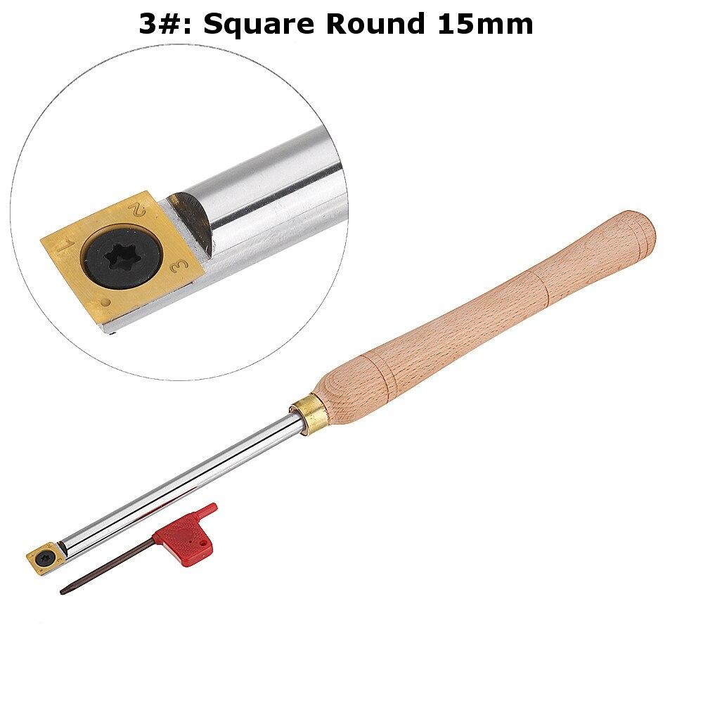 titânio revestido carboneto inserção cortador haste redonda