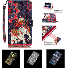 цена на For iphone 7 plus phone case Flip magnetic stander wallet iphone 6 6s plus case iphone 8 plus leather Card slot rose beauty case