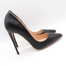 Free shipping fashion women Pumps lady Black Matt leather Pointy toe high heels shoes Stiletto Heeled 12cm 10cm 8cm fashion sweet women 10cm high heels pumps female sexy pointed toe black red stiletto high heels lady pink green shoes ds a0295
