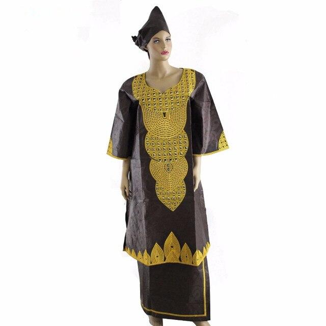 (Бесплатная доставка) новая Африканская леди платье модной 2015 БАЗЕН Африканских традиционных materia Новый дизайн моды в Африканских HS2233PX