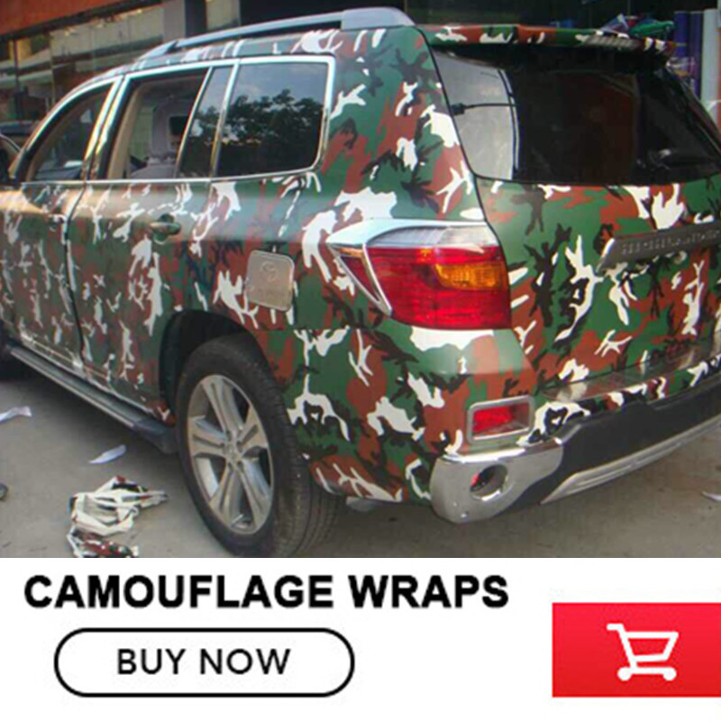 Forest Urban Camouflage Vinyl Wrap Military Green Camo Vinyl Film Bubble Free Vehicle Wrap Size: 5x98FT /Roll