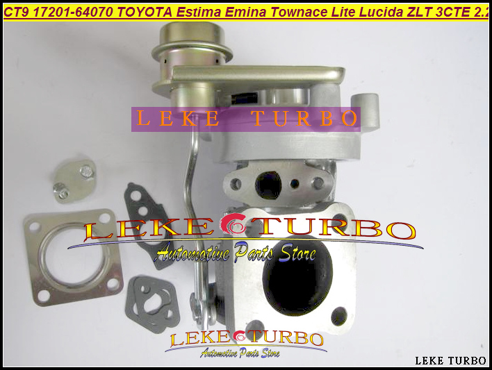 CT9 17201-64070 17201 64070 17201-64071 Turbo Turbocharger For TOYOTA Estima Emina Lucida Lite Townace Picnic 3CTE 3CT 3C  2.2L