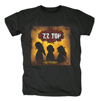 Free shipping ZZ TOP Black Group TRES HOMBRES Blues Rock 100% cotton T Shirt