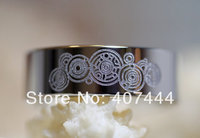 Free Shipping USA UK Canada Russia Brazil Hot Sales 8MM Doctor Who Time Lord High Polish