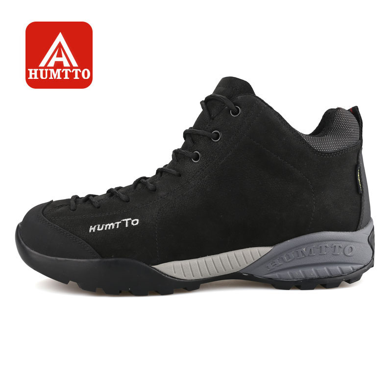HUMTTO Hiking Shoes Men Warm Winter Outdoor Climbing Boots Walking Sneakers Waterproof Non-slip Leather Sports Shoes mulinsen brand new winter men sports hiking shoes inside keep warm sport shoes wear non slip outdoor sneaker 270622