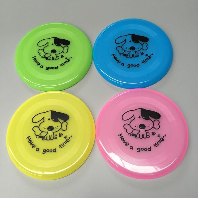 plastic frisbee pet toy frisbee puppy training supplies beach