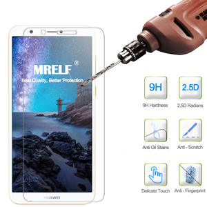 MRELF Tempered Glass for Huawei P Smart Screen Protector on for P Smart 9 H 2.5D