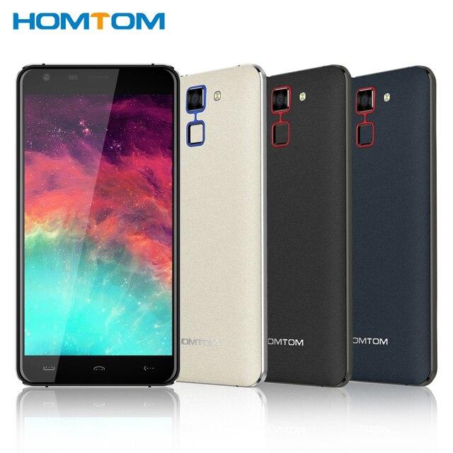 Original HOMTOM HT30 Cell Phone 3G RAM 1GB ROM 8GB MTK6580 Quad Core 5.5 inch Android 6.0 Camera 8.0MP 3000mAh Smartphone