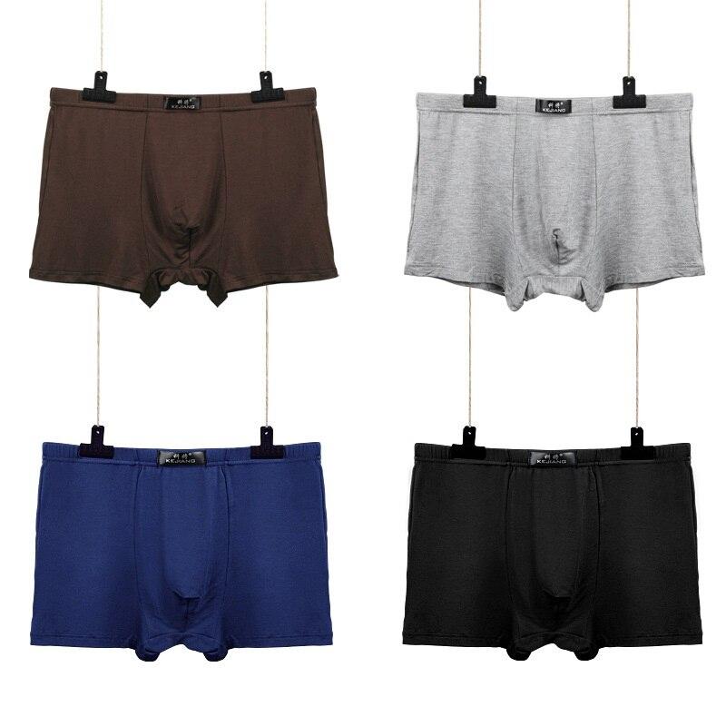 7pcs/lot Brand Modal Boxer Men Underwear Mens Shorts Boxers Gray Sexy Homme Underpants Cheap Underclothes Modal Underwaist Y836 #5