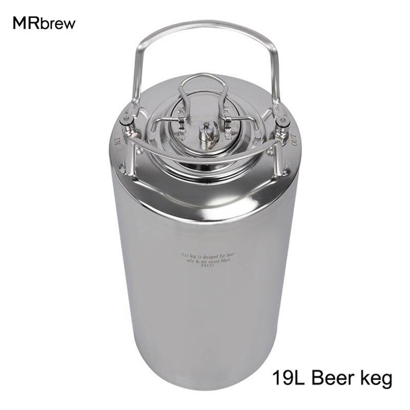 5 gallon 19L Verrouillage À Billes Cornelius Corny Keg Pepsi Soda bière baril avec Poignées Homebrew Bière