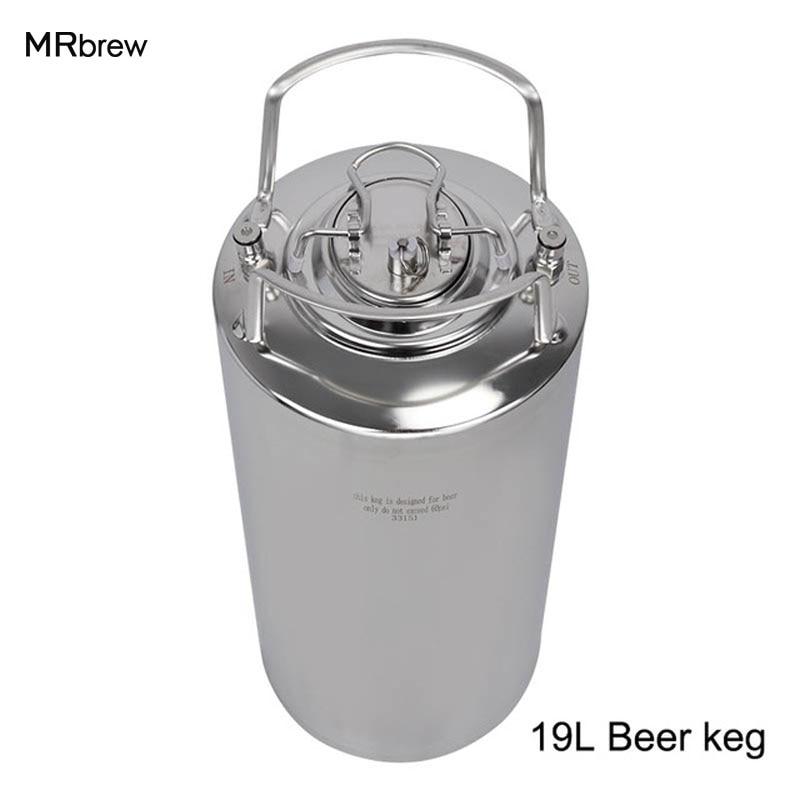 5 galonów 19L blokada piłka banalne Keg Cornelius Pepsi sody Keg na piwo z uchwytami Homebrew piwo w Warzenie piwa od Dom i ogród na  Grupa 1