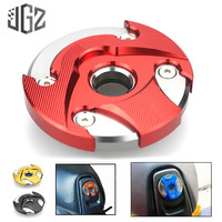 Motorcycle CNC Aluminum Engine Guards Oil Filler Cap Decorative Cover For YAMAHA BWS125 Protective Shield Modified Accessories