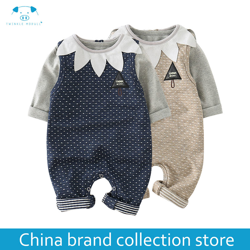 baby clothes Autumn newborn boy girl clothes set baby fashion infant baby brand products clothing bebe newborn romper MD170Q024 2017 hot newborn infant baby boy girl clothes love heart bodysuit romper pant hat 3pcs outfit autumn suit clothing set