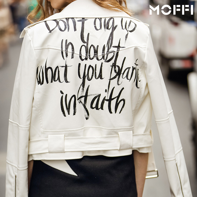 Online Get Cheap White Leather Jacket -Aliexpress.com | Alibaba Group