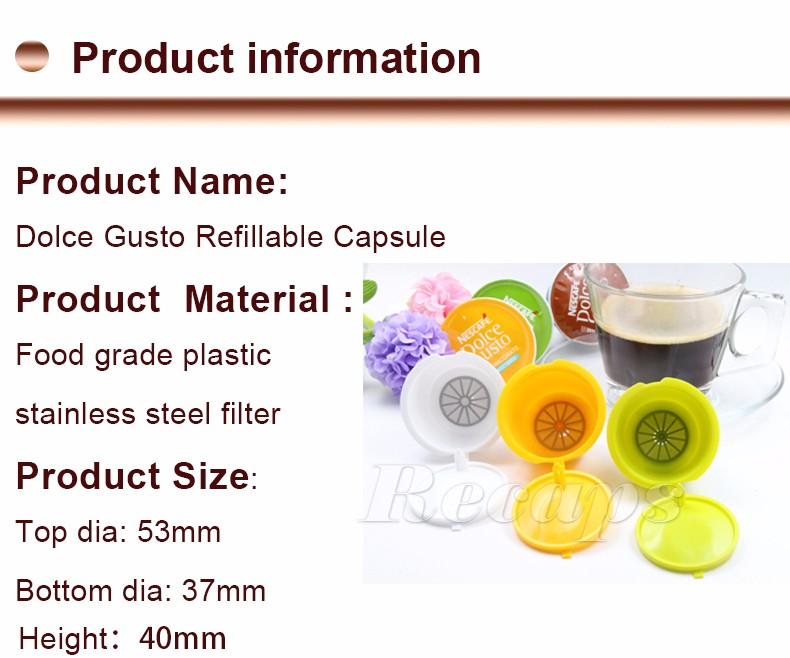 refillable capsule