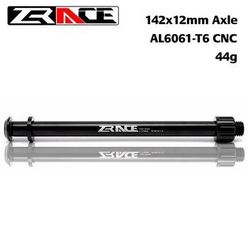 ZRACE 142x12mm אקסל Thru MTB אופני פיר רכזות, CNC AL 6061 אופניים אחורי רכזת תואם עבור 175mm SHIMANO מסגרת