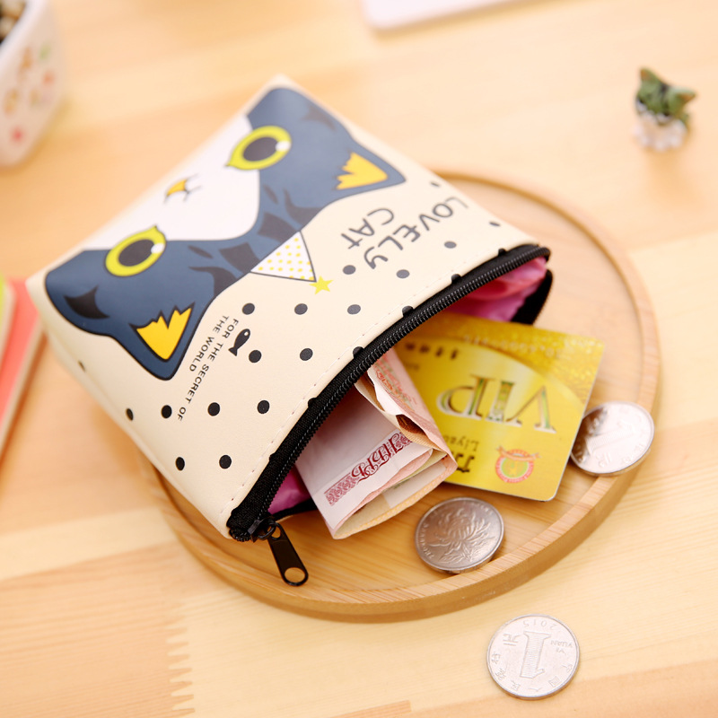 Image 3 - New Arrivals Creative Cartoon Kawaii Cute Fresh Fashion Lovely Cat Korean Style Rubber Coins Candy Storage Boxes SN26-in Storage Boxes & Bins from Home & Garden