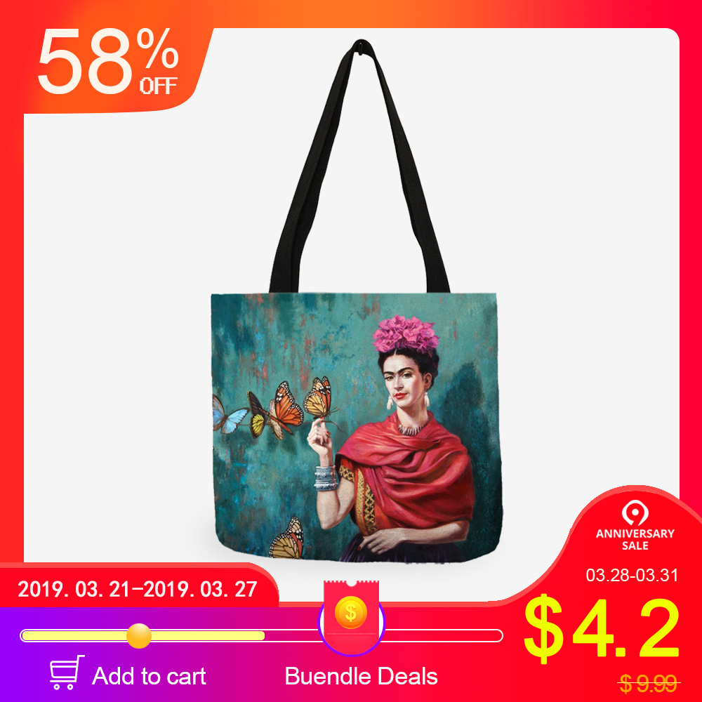 Functional Bags Objective Canvas Tote Bag Women Reusable Shopping Shoulder Bags Large Casual Beach Gift Handbag Girls Female Holiday Beach School Bag