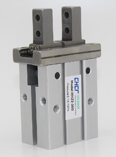 MHZ2-32D parallel finger cylinder manipulator small pneumatic finger of small pneumatic cylinder mhz2 20d parallel finger cylinder manipulator smc type pneumatic finger cylinder