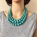 61c9c86a5156 Collar de dos colores de moda de piedra Natural con gargantilla nueva de  envío gratis