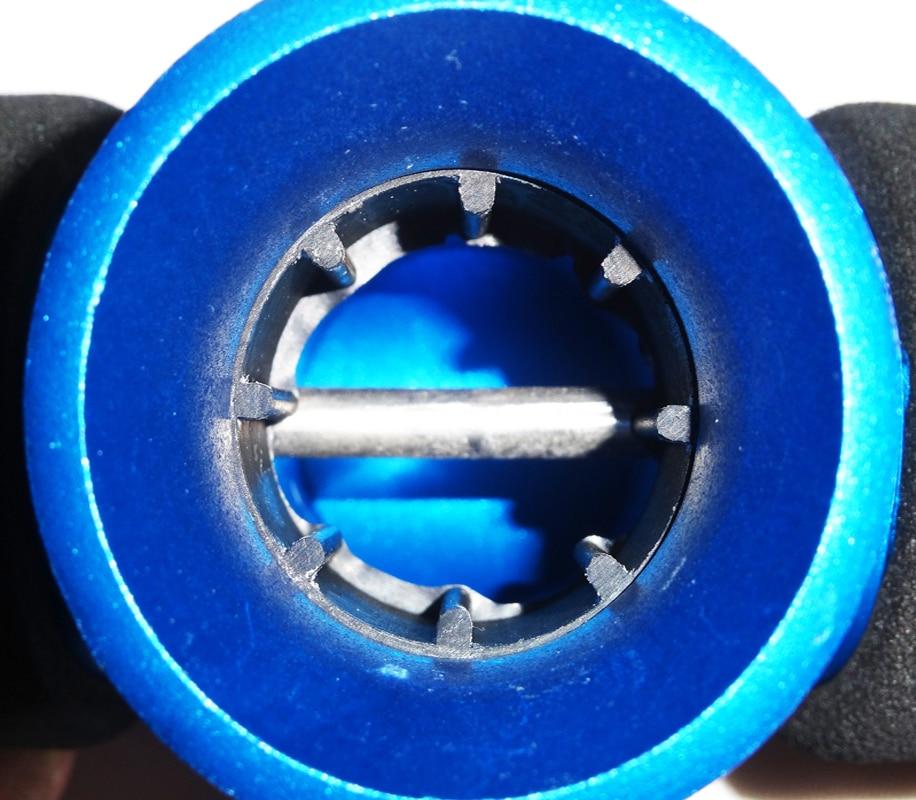 Alumiininen T-BELLY-helmihihnan jig-veneen kalastus sauvan - Kalastus - Valokuva 3
