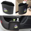 New Universal Mini Car Trash Rubbish Garbage Bin Dust Case Holder Box Accessories Free Shipping