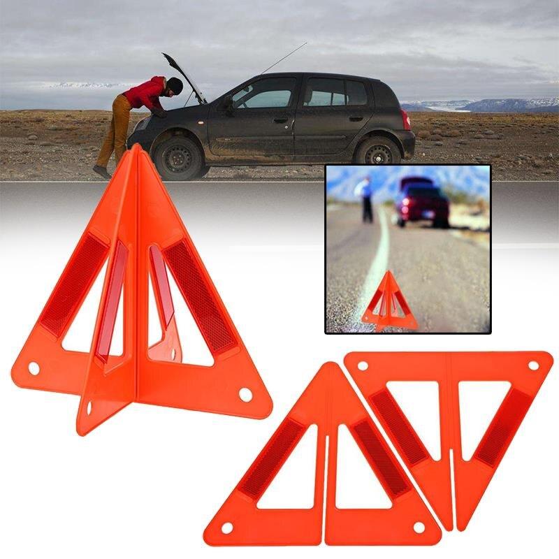 Vehemo 2 шт. складной автомобиль Предупреждение Треугольники Детская безопасность остановить пробоя вывеска чрезвычайной светоотражающий flash...
