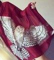 2016 new high quality Owl scarves scarf shawl female high-end scarves sunscreen scarf 180*105 free ship