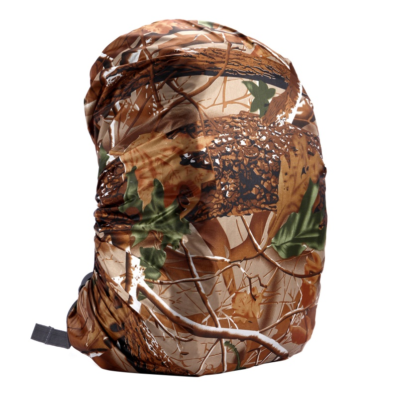 35L/45L//60L/70L/80L Camouflage Bag Rain Cover Hiking Camping Backpack Waterproof Cover Anti-theft Backpack Dustproof Cover