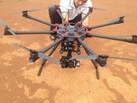 Folding s 1200 Rotor Shaft Professional Grade UAV Rack Shaft Large Frame for 8 axis RC Airplane Plane