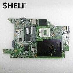 SHELI 11S0C18223 48.4LH01.021 płyta główna dla lenovo thinkpad L540 laptopa płyty głównej płyta główna w 15.6 cal DDR3L pełne testowane w Płyty główne od Komputer i biuro na