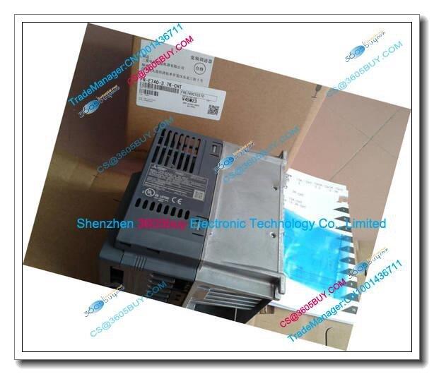 New Original Inverter FR-E740-3.7K-CHT Universal type 380V 3.7KW 9.5A