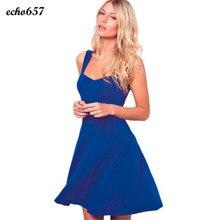Heißer Verkauf Frauen Kleid Echo657 Neue Mode Sexy Frauen Sleeveless Short Kleid Dezember 14