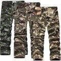 2016 nuevo algodón yardas grandes monos de camuflaje pantalones sueltos fino, recta, los jóvenes populares