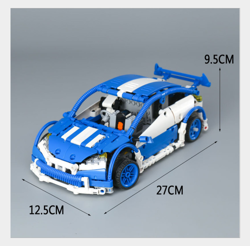 Lepin 20053 & 20053B Genuine Technic Series The Hatchback Type R Set Compatible With Legoed MOC-6604 Building Blocks Bricks Toys new lepin 16009 1151pcs queen anne s revenge pirates of the caribbean building blocks set compatible legoed with 4195 children