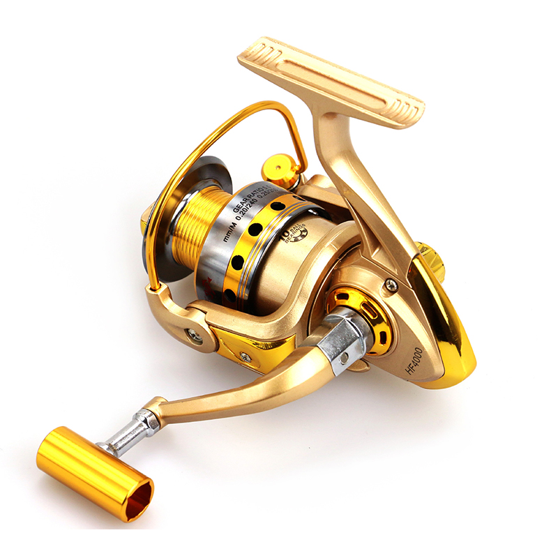 Yumoshi carp 500 9000 12bb feeder metal body big spinning for Chinese fishing reels
