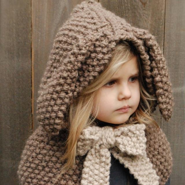 Conejito de los niños del invierno sombreros carácter Niños Niñas ...