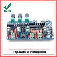 Bluetooth USB TF decoding 2.1 channel digital amplifier board 2.1 digital amplifier module board