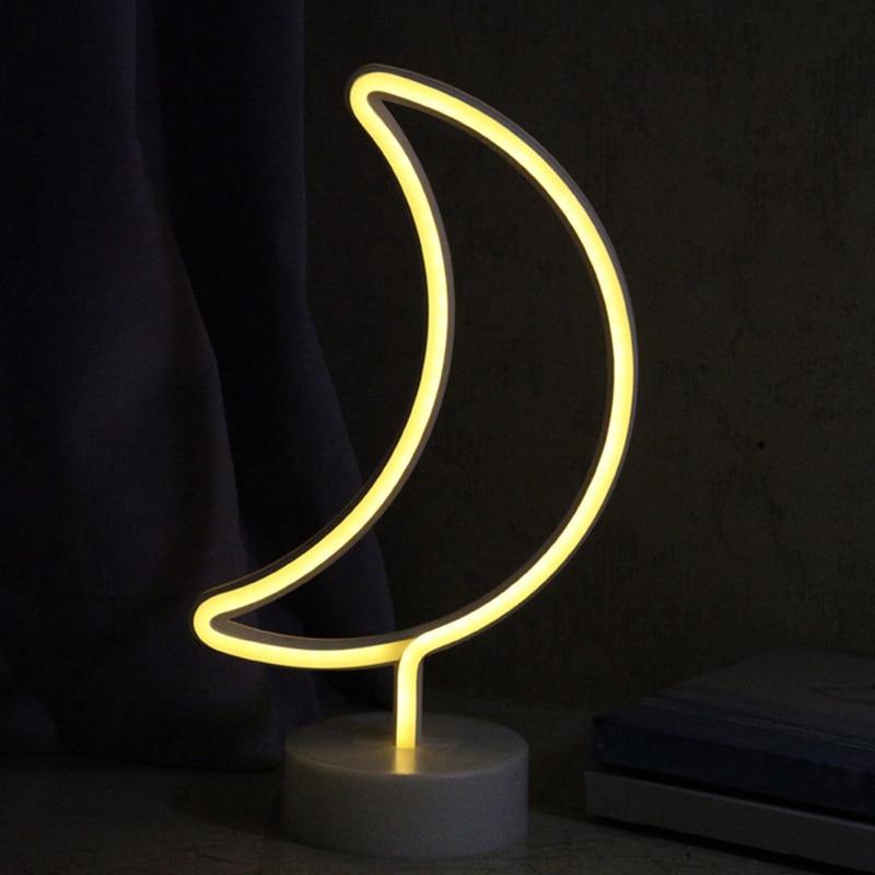 Night Lamp Holiday Light Tree/Cactus/Moon/Cloud LED Night Light Home Festival Wedding Decor Party Luminous props