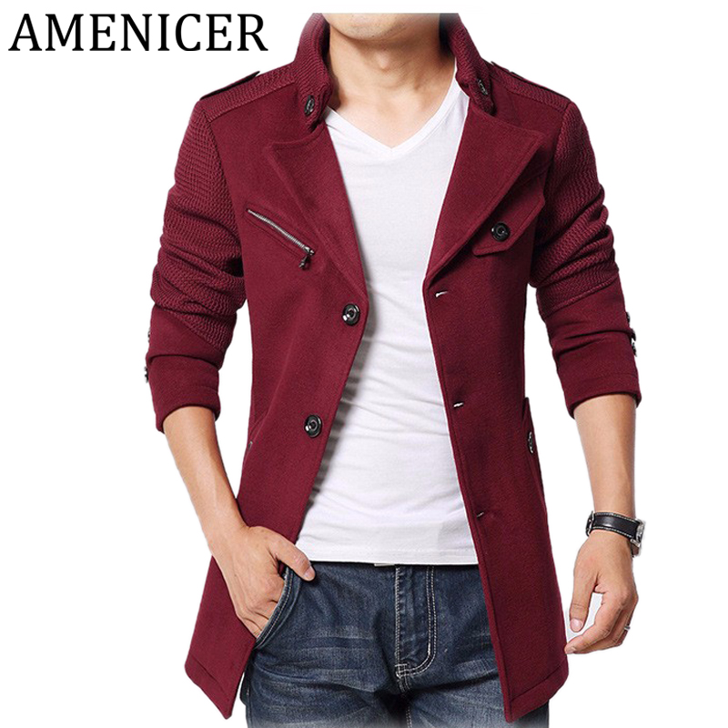 Online Get Cheap Long Pea Coats Men -Aliexpress.com   Alibaba Group