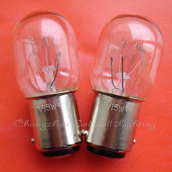 Dobrá! Miniaturní lampa 220V 15w Ba15d T20x45 A673