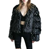 Women S Faux Fur Coat Women Fashion Pink Fur Coat Elegant Thick Warm Outerwear Fake Fur