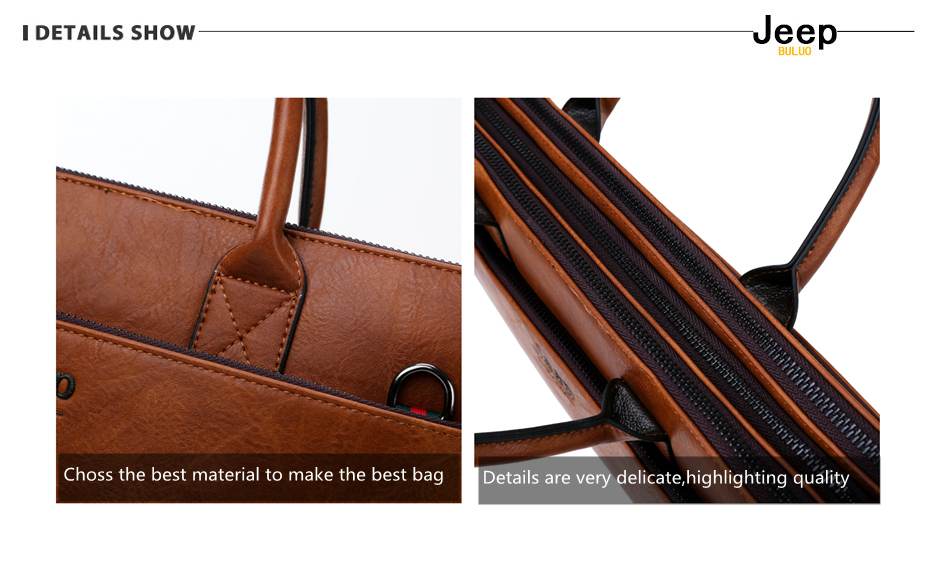 HTB12ElvRCzqK1RjSZFjq6zlCFXaH JEEP BULUO Brand High Quality 14 inch Laptop Business Bags Men Briefcases Set For Handbags Leather Office Large Capacity Bags